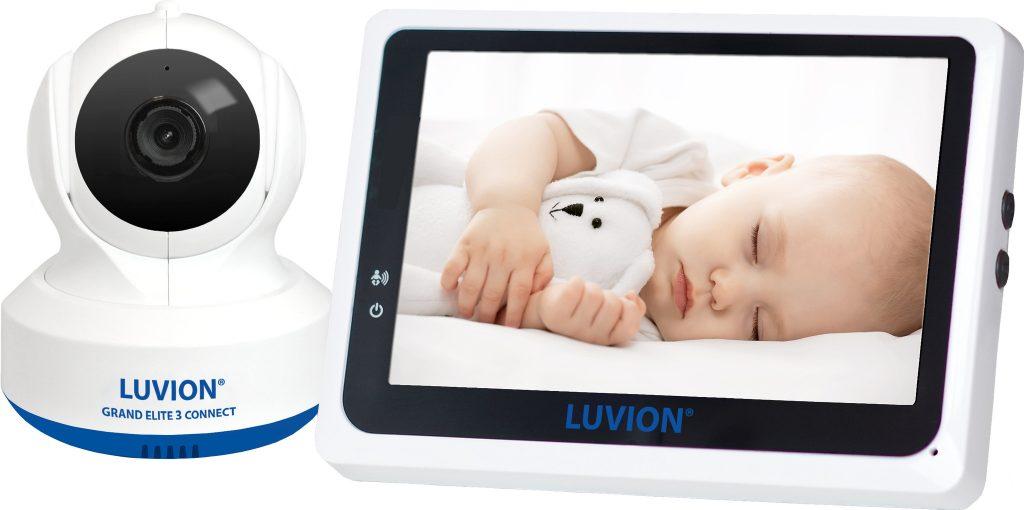 Luvion Grand Elite 3 Connect babyfoon met camera
