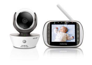 Babyfoons en apps - Motorola MBP853CONNECT wifi babyfoon met camera