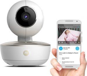 Motorola MBP-88 CONNECT wifi babyfoon met camera